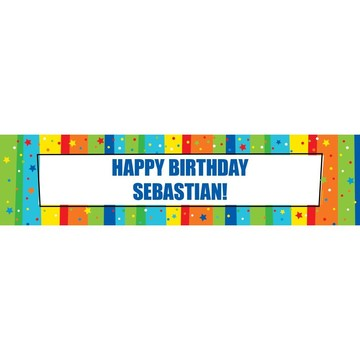 A Year to Celebrate Personalized Banner (Each)