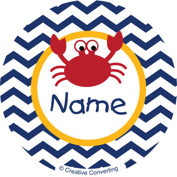 Ahoy Matey Personalized Mini Stickers (Sheet of 24)