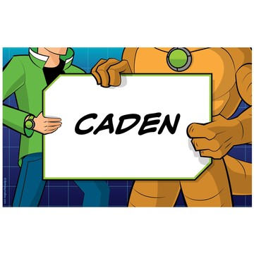 Alien Hero Personalized Placemat (each)