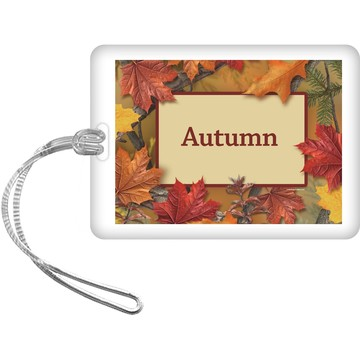 Autumn Leaves Personalized Bag Tag (Each)
