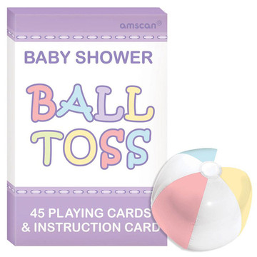 Baby Shower Question Ball Game (Each)