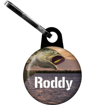 Bait 'N Hook Personalized Mini Zipper Pull (Each)
