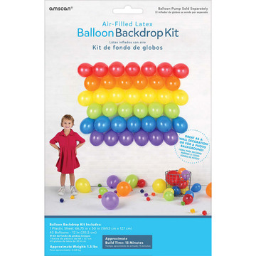 Balloon Backdrop Kit