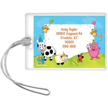 Barnyard Personalized Luggage Tag (each)