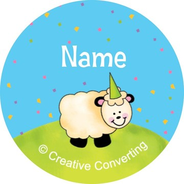 Barnyard Personalized Mini Stickers (Sheet of 20)