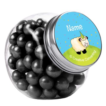 Barnyard Personalized Plain Glass Jars (12 Count)