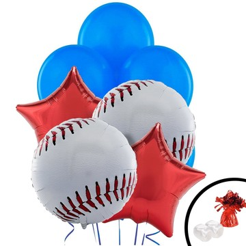 Baseball Balloon Bouquet