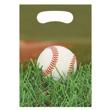 Baseball Treat Bags (8 Count)