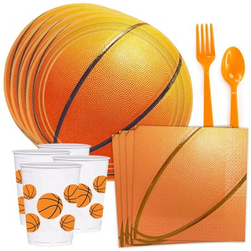 Basketball Standard Tableware Kit (Serves 8)