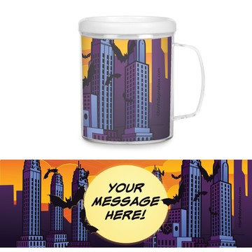 Bat Personalized Favor Mugs (Each)