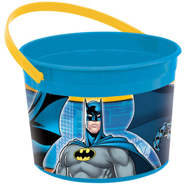 Batman Plastic Favor Container (Each)