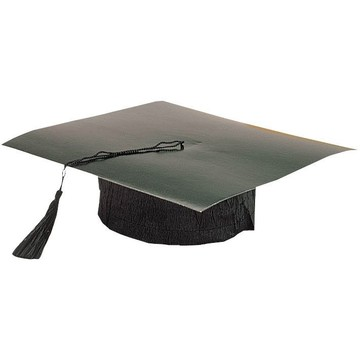 Black Paper Graduation Cap (Each)