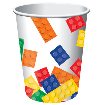 Block Party 9 oz Cups (8 Count)