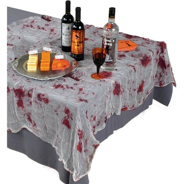 Bloody Gauze Table Cover (Each)