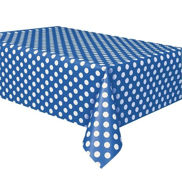 Blue Dots Table Cover (Each)