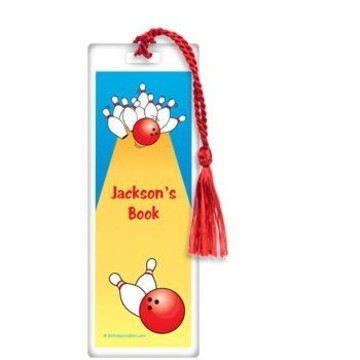 Bowling Personalized Bookmark (each)