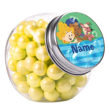 Bubble Friends Personalized Plain Glass Jars (10 Count)