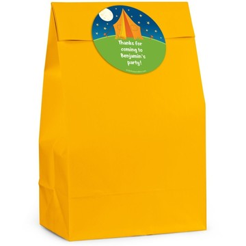 Camping Personalized Favor Bag (Set Of 12)