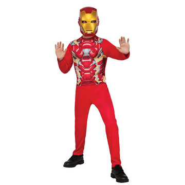 Captain America: Civil War Iron Man Boy's Costume