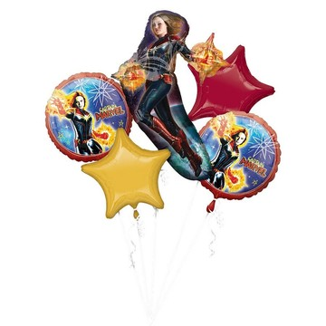 Captain Marvel Balloon Bouquet