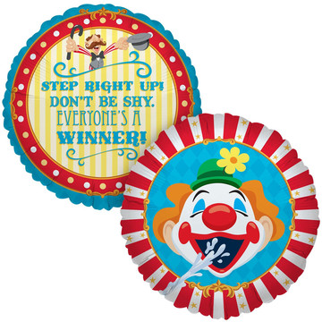 Carnival Games Foil Balloon