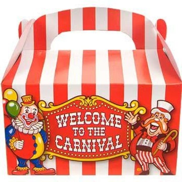Carnival Party Favor Boxes (12-pack)