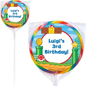 Cart Brothers Personalized Lollipops (Pack Of 12)