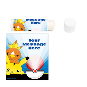 Catch 'Em All Personalized Lip Balm (12 Pack)