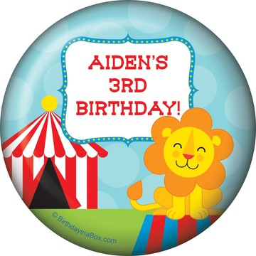 Circus Personalized Magnet (Each)