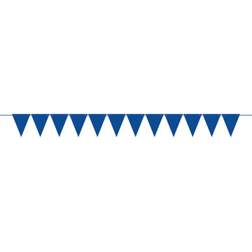 Create Your Own Royal Blue Large Pennant Banner (1)