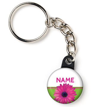 "Daisy Power Personalized 1"" Mini Key Chain (Each)"