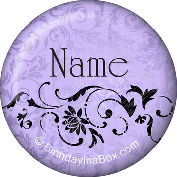 Dawn Personalized Mini Button (each)