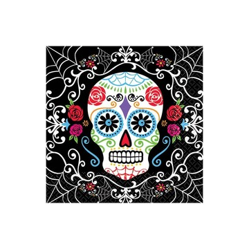 Day of the Dead Beverage Napkins (36 Pack)
