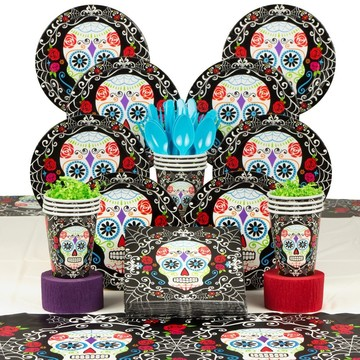 Day of the Dead Deluxe Kit (Serves 18)