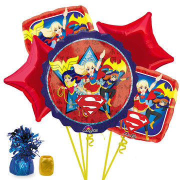 DC Super Hero Girls Balloon Bouquet Kit