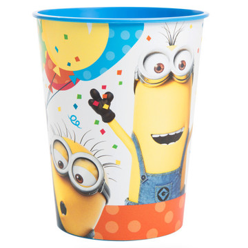 Despicable Me Minions Plastic Favor Cup (1)