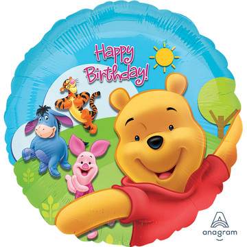 Disney Pooh Mylar Balloon (each)