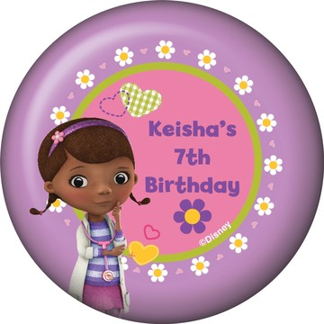 Doc McStuffins Personalized Magnet (Each)