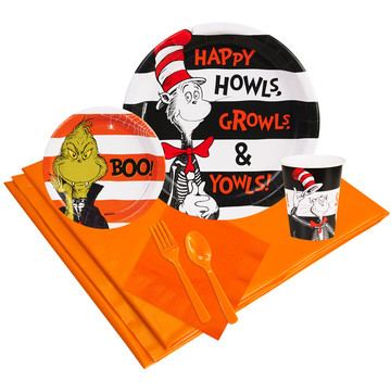 Dr. Seuss Halloween Party Pack (8)