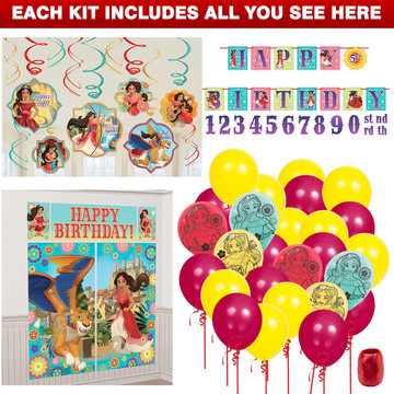 Elena of Avalor Decoration Kit