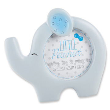 Elephant Photo Frame - Little Peanut (Blue)