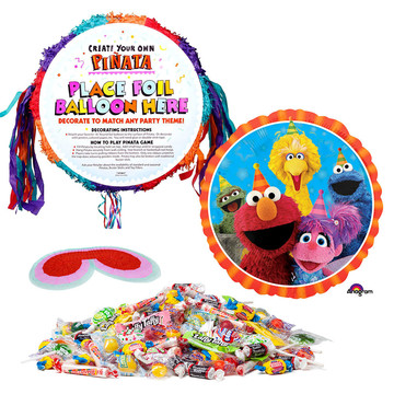 Elmo Pull-String Pinata Kit