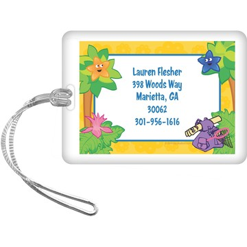 Explorer Friends Personalized Luggage Tag (each)