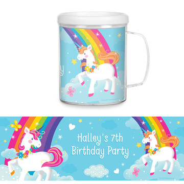 Fairytale Unicorn Personalized Favor Mug (Each)