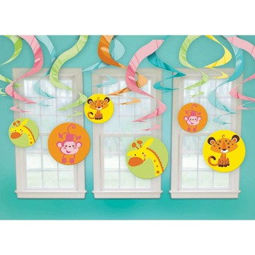 Nice Fisher Price Baby Shower Swirl Decorations (Each)