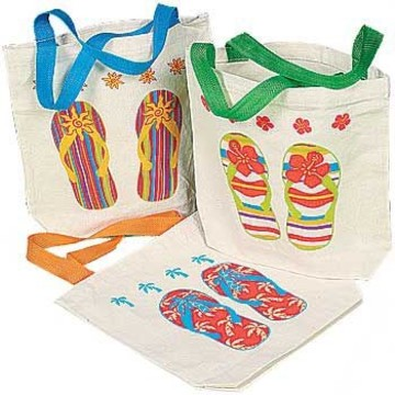 Flip Flop Favor Tote (each)