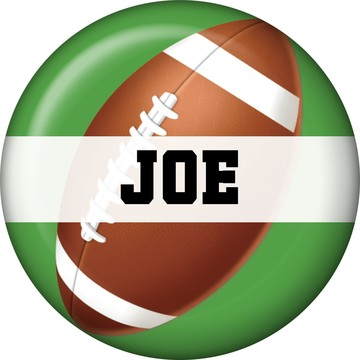 Football Party Personalized Mini Magnet (each)