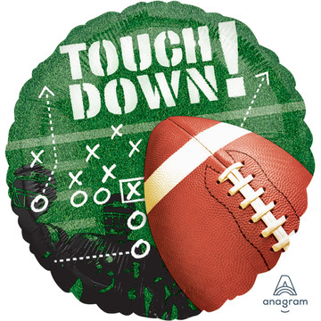 "Football Touchdown 18"" Balloon (1)"
