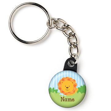 "Forest Friends Personalized 1"" Mini Key Chain (Each)"