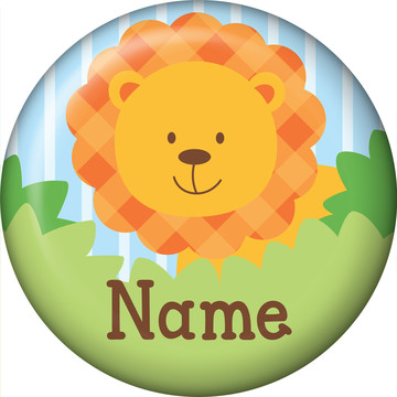 Forest Friends Personalized Mini Button (Each)